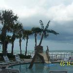 ocean view from pool area