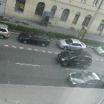 busy road outside my window