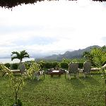 View from bar villa - about 200m from your private villa