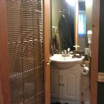 Bathroom in the First cabin
