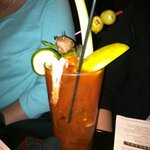 Bloody Mary... like a meal in a glass!