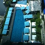 pool from the 19th floor