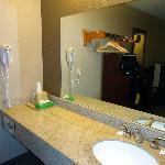 Sink/Vanity just outside of bathroom