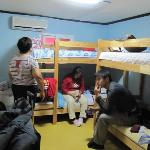 the dormitory room 206