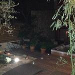 Jaccuzi + terrasse de la chambre valis Brigia - De Nuit