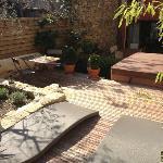 Jaccuzi + terrasse de la chambre valis Brigia - De Jour