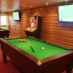 Our newly added pool/games room