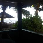 View from Bungalow No.2 Private Balcony/Patio
