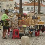 Dried fruits for sale in Nazare