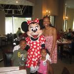 Character Dining on Sunday at the Breakfast Buffet