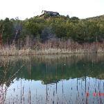 Evening fishing at Joshua's pond.