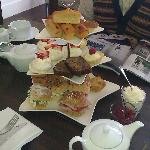 Afternoon tea at Black Rock House