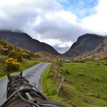 View of the Gap of Dunloe from the Jaunting Car