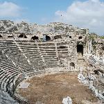 Amphitheatre in Side