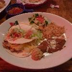 Chicken taco fajitas
