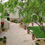 Courtyard at Casita 6