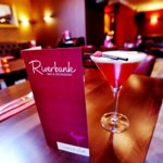 Cocktails at Riverbank