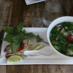 vegetarian Pho soup is awesome!