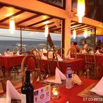 Steakhouse with terrace