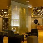EL lobby del hotel.