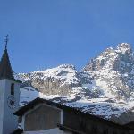 Cervinia village