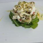 Sea bass sallad
