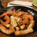 prawns and calamari