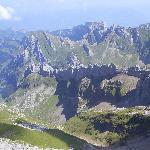 Blick vom Säntis 2502 m