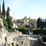 Vista dal Castel S. Pietro del Teatro Romano