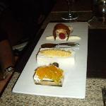 dessert (passion fruit)