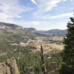 Looking into the Pagosa Springs Valley from the East