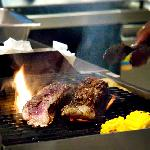 Hot Cooking! Premium Beef on the Grill