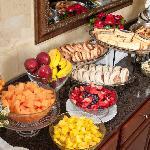 Continental Breakfast display