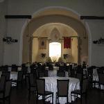 alte Klosterkapelle wird als zuätzlicher Speisesaal genutzt