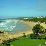 View of wonderful Robberg Beach from the Restaurant
