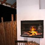 a fireplace in each room