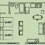 Efficiency unit floorplan