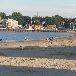 Weymouth beach on a fine evening
