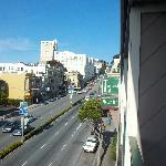 View from balcony to the east