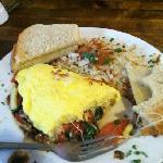 Agate Flat omelet!