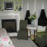 Spring Garden Fireplace