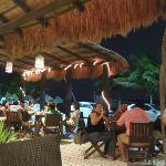 Vista romantica del restaurant
