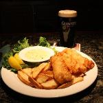 Classic pub fare- Fish and Chips