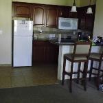 inside room, dining area
