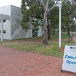 Outside the School of Art Gallery