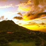 Morning View of Diamond Head
