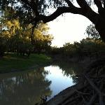 the Barwon River near the motel.