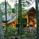 Konkapot Lodge nestled in the Northwoods