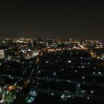 city view at 3 am on the 27th floor