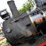 C17 967 'The Valley Rattler' steam train from Gympie